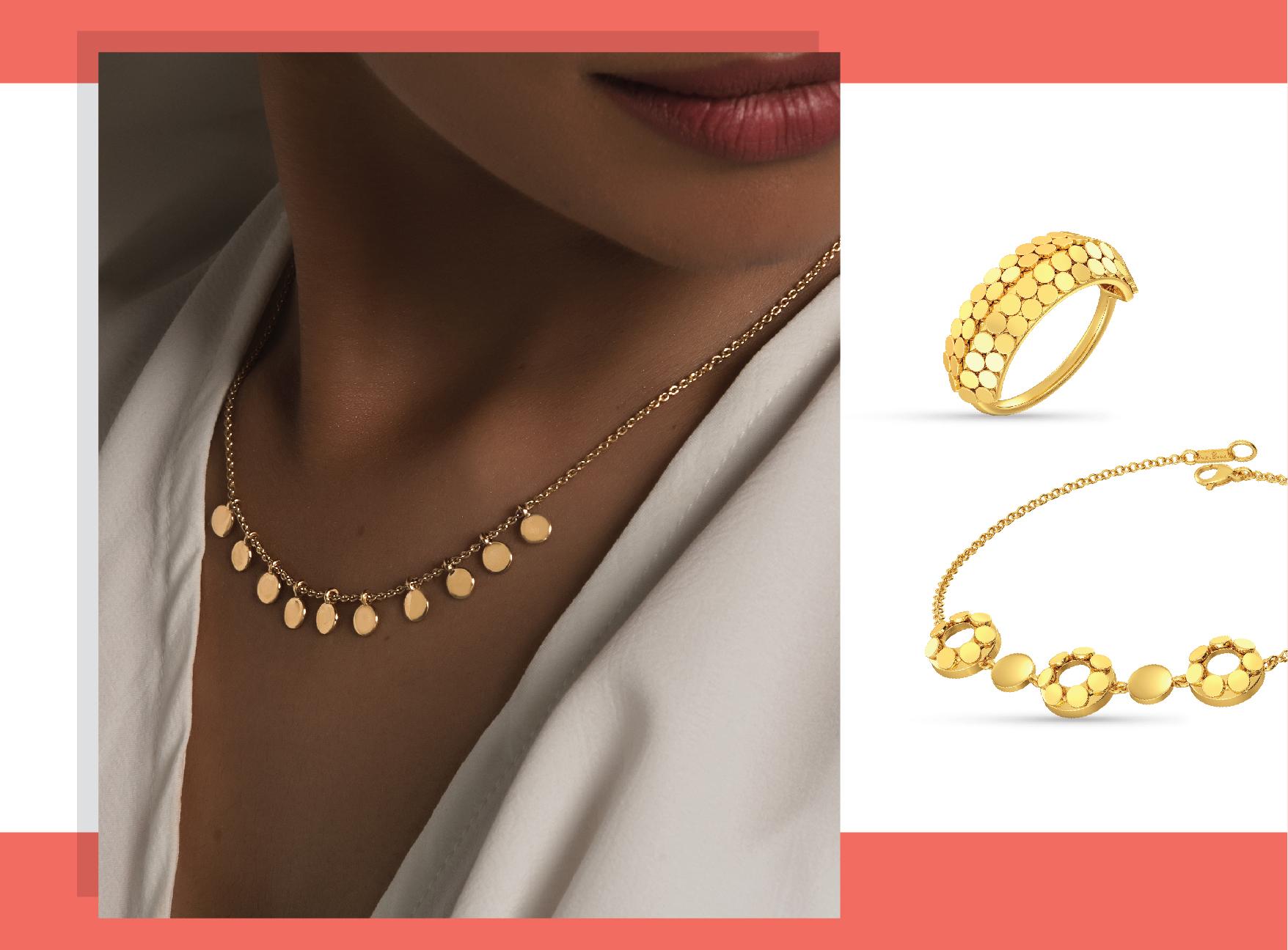 Gold jewellery melorra.com