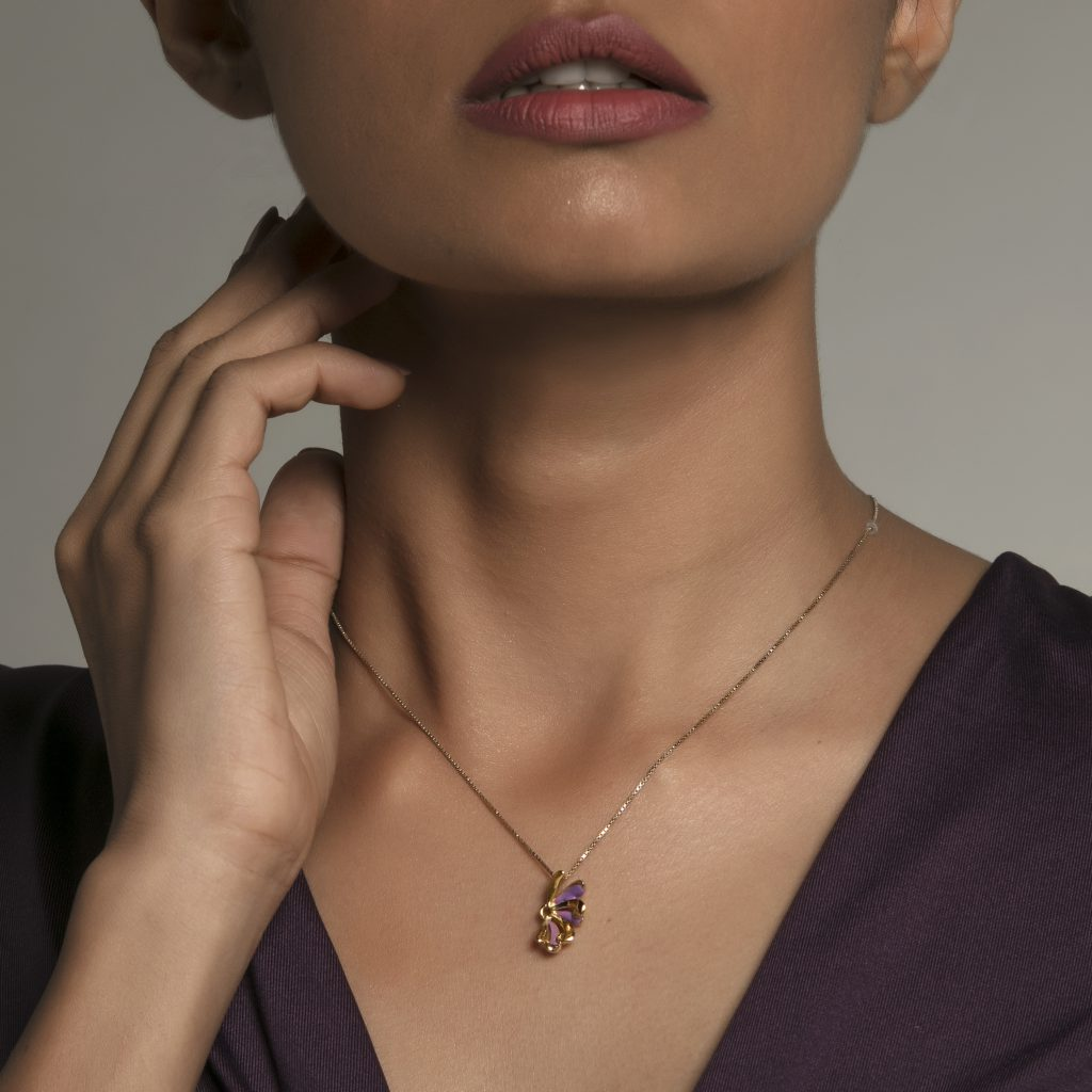 gold pendant enamel jewellery buy gold jewellery online