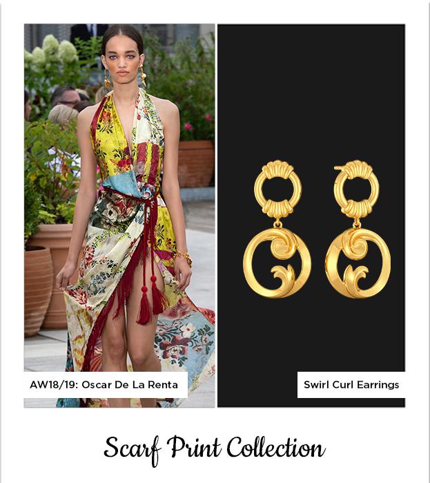 Gold Earrings Melorra.com