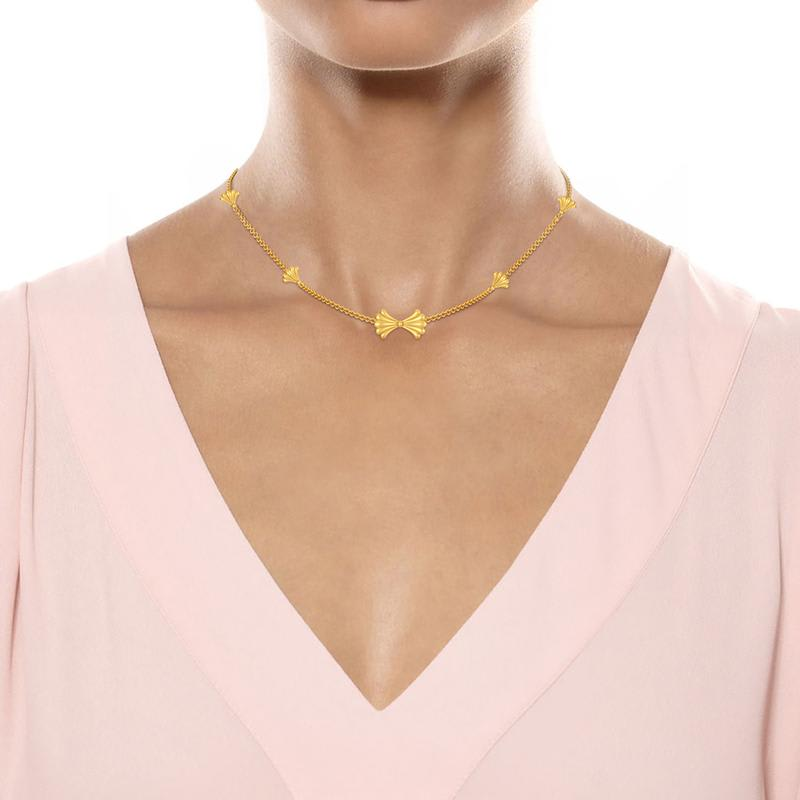 Gold jewellery Buy gold necklace online