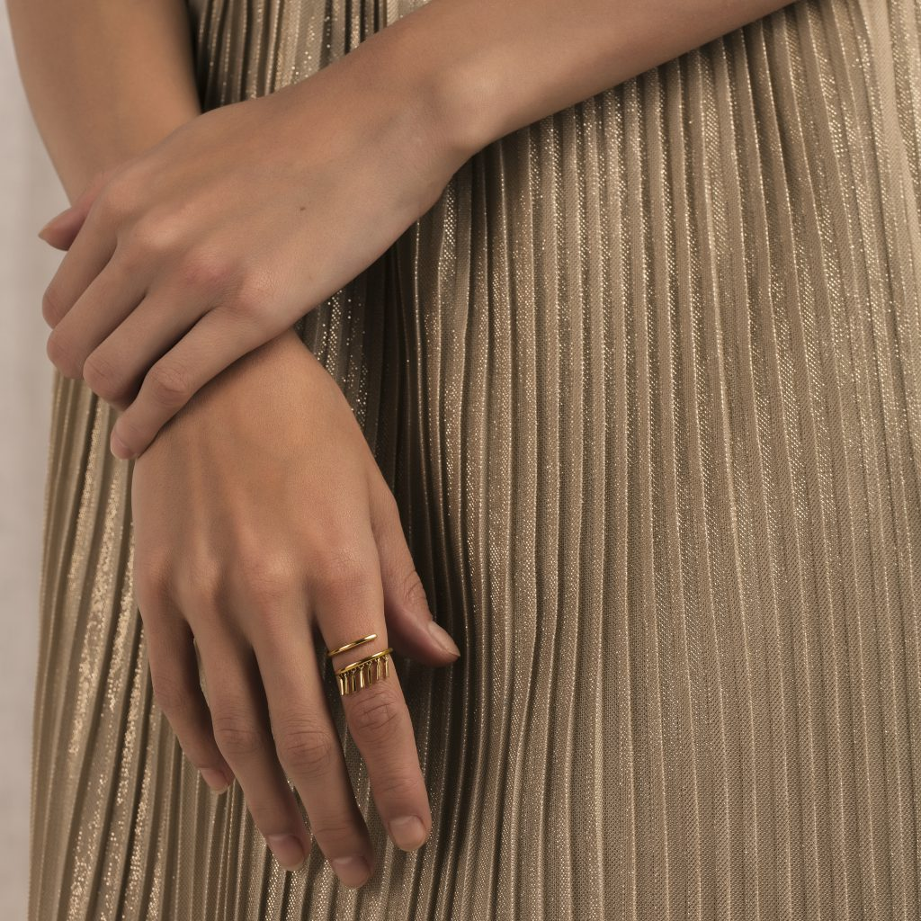 Gold rings gold jewellery gift