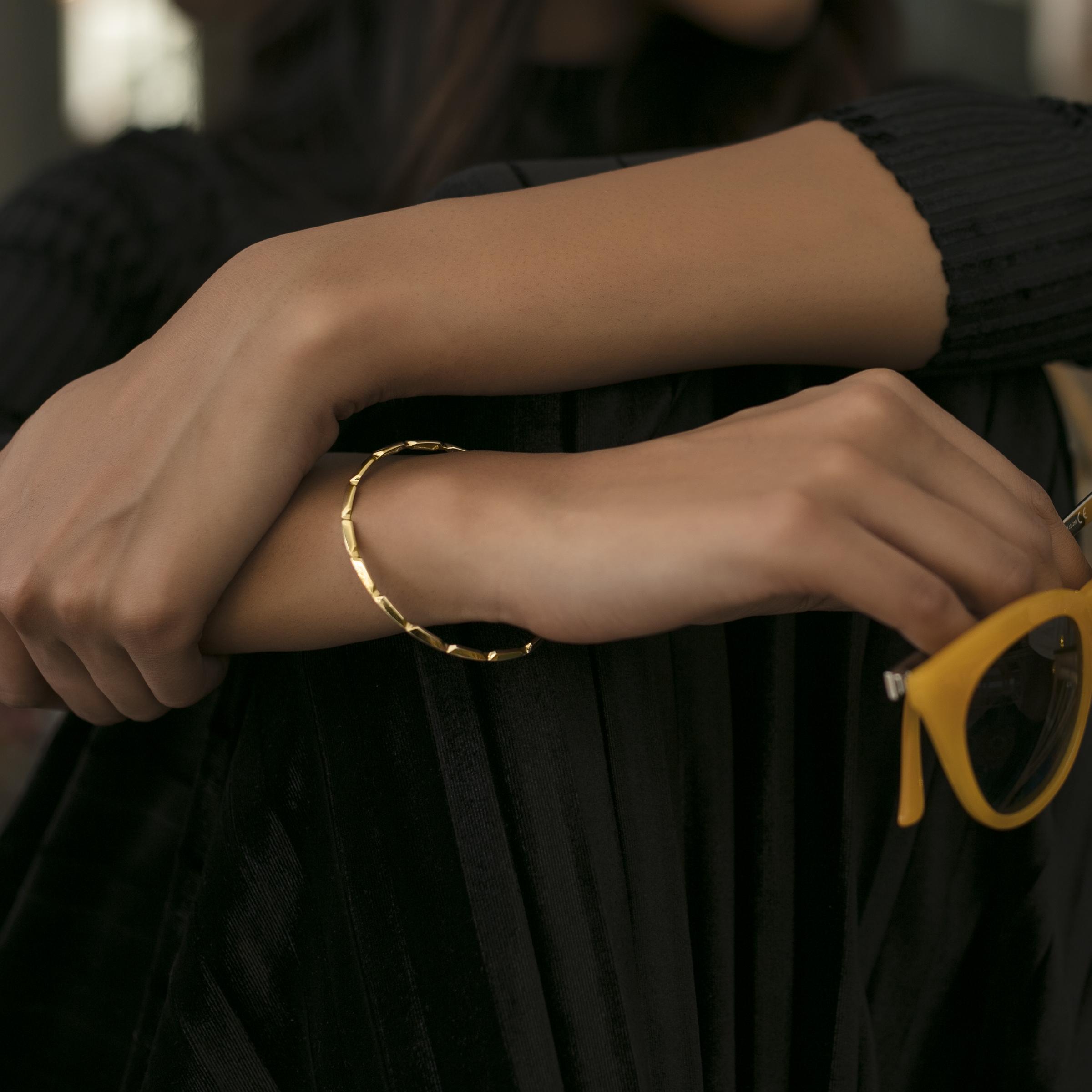 Gold Bangles Melorra.com