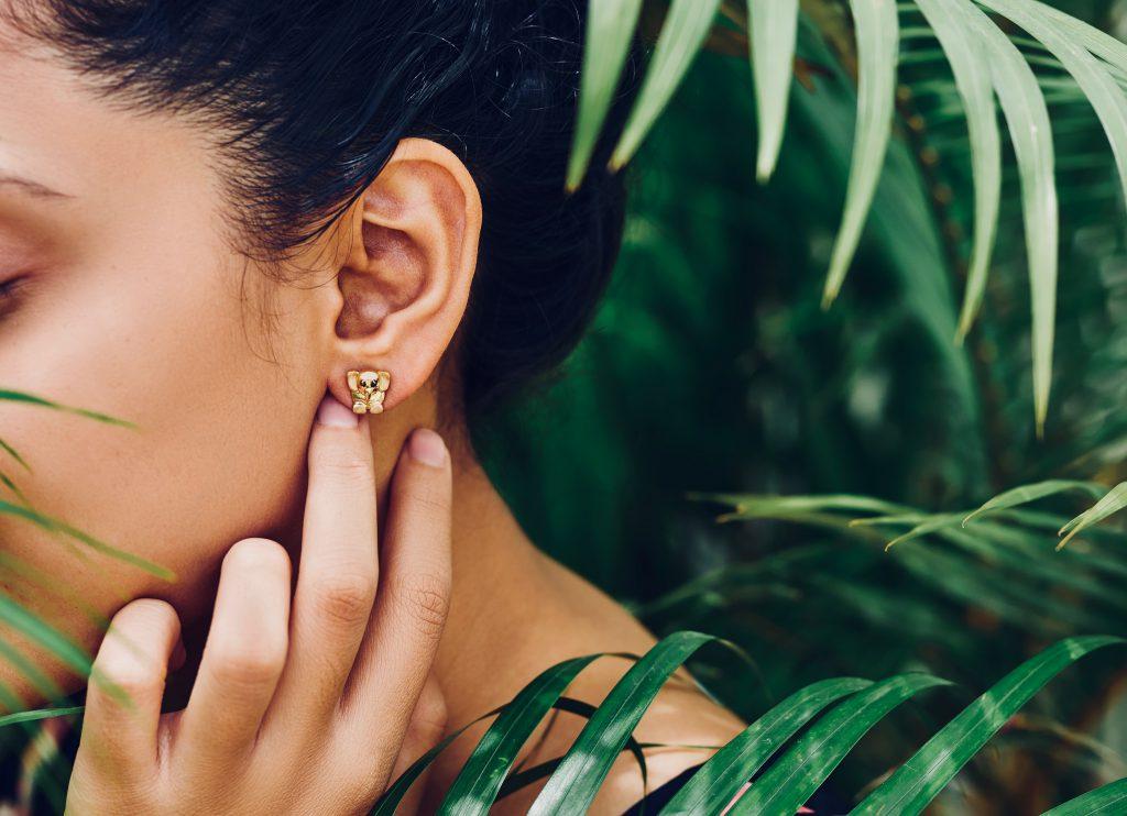 gold earrings gold jewellery gift