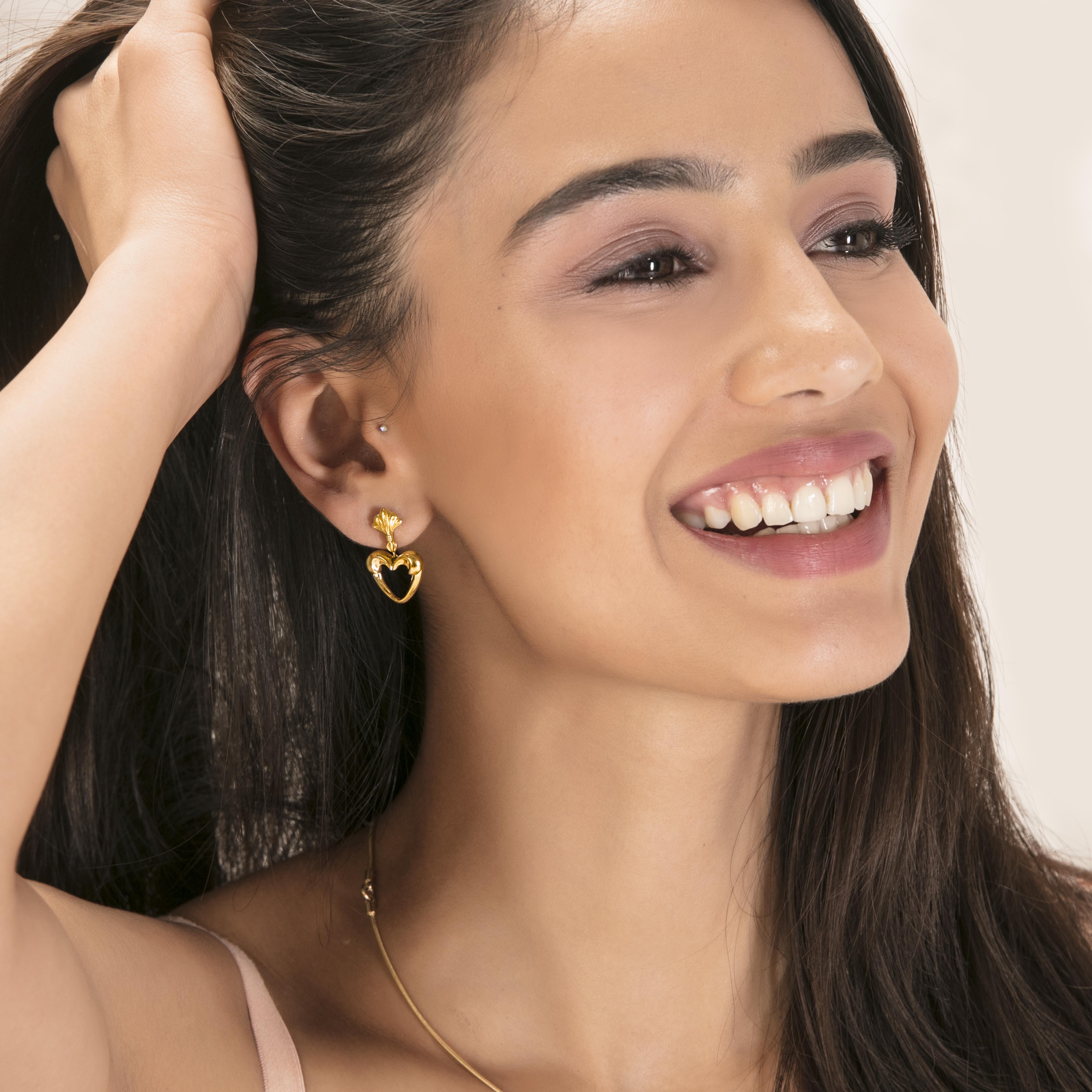 gold jewellery gold earrings