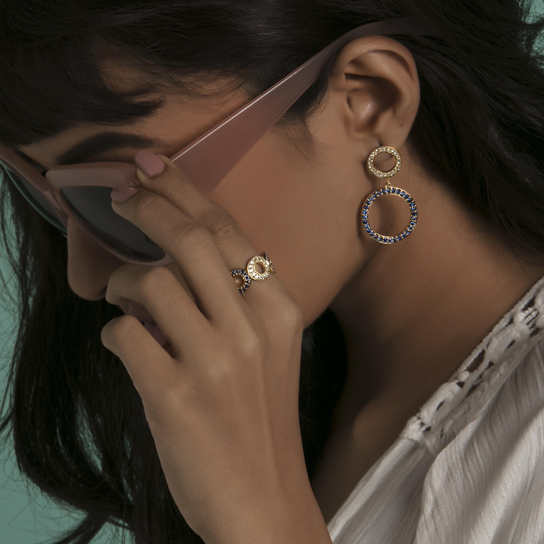 Gemstone jewellery gemstone danglers gold danglers gold jewellery gold rings