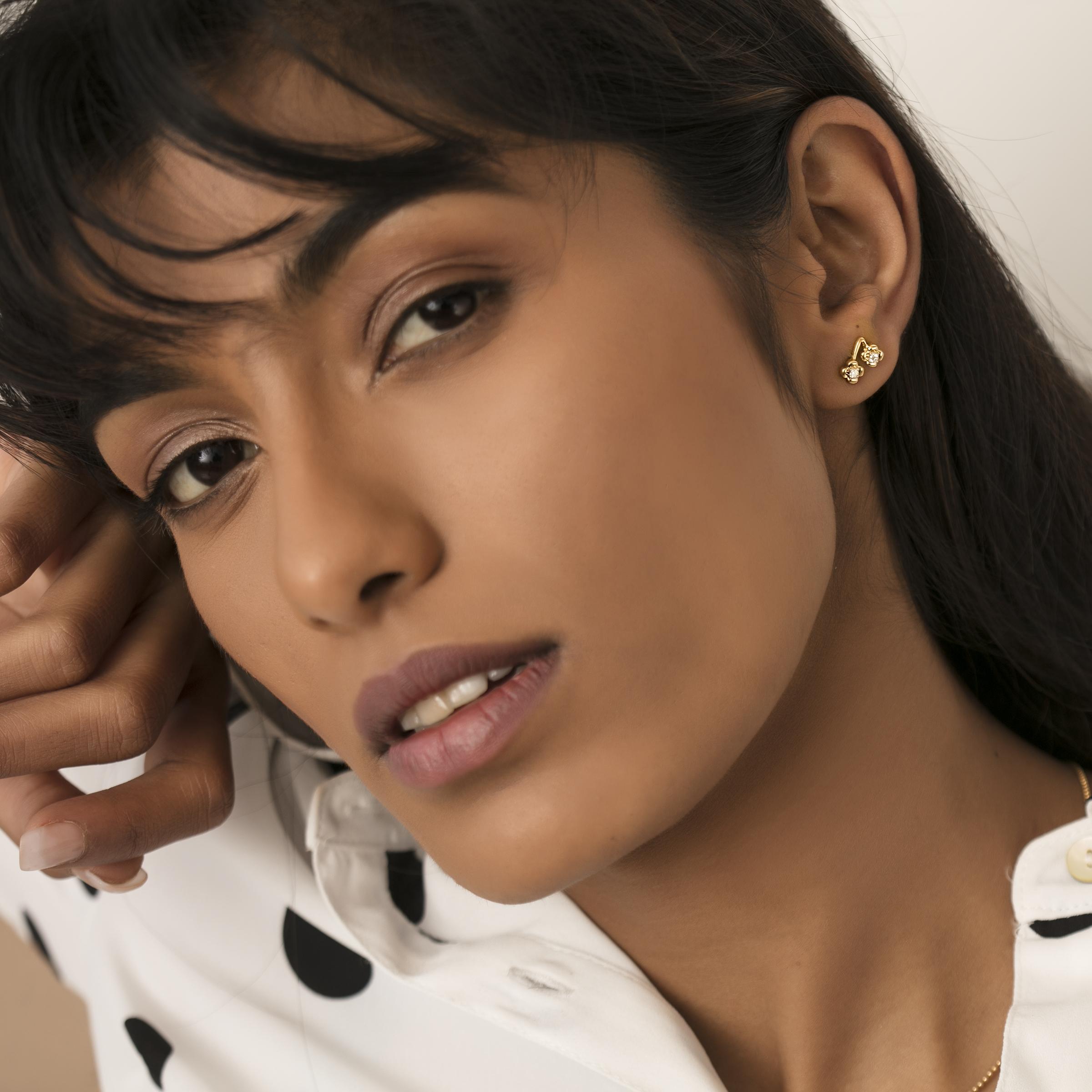 diamond earrings diamond jewellery