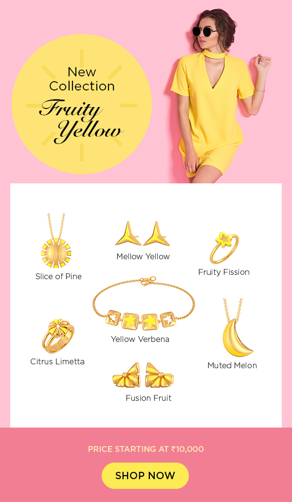 fashion trend gold jewellery enamel jewellery