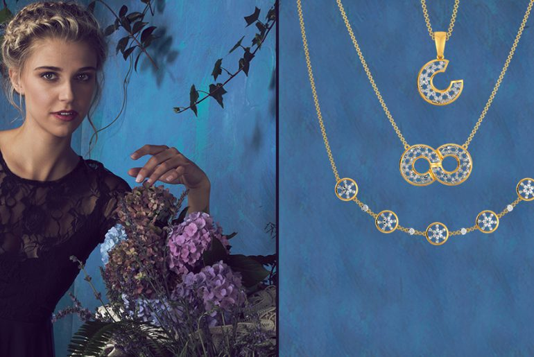 lacy diamond jewellery collection