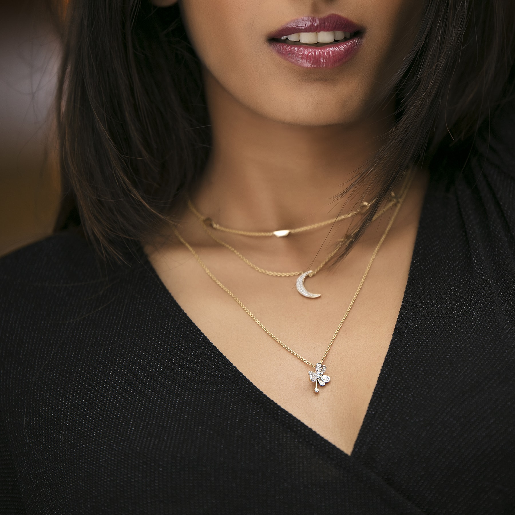 10 Rules of Stacking Up Gold Jewellery! #Styletips