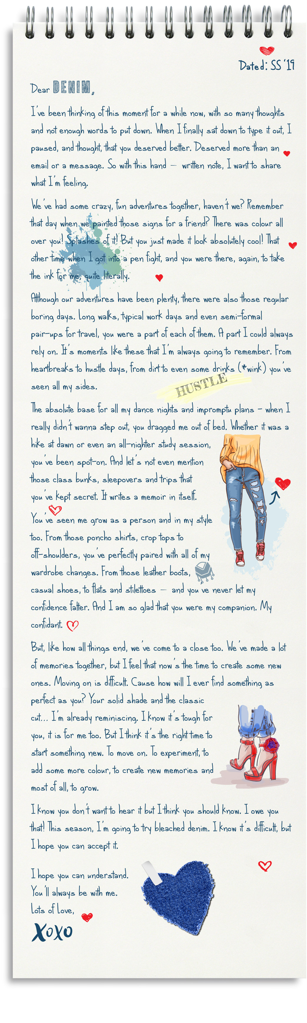 a letter to your favourite denim