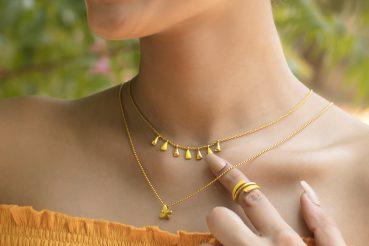 gold enamel jewellery