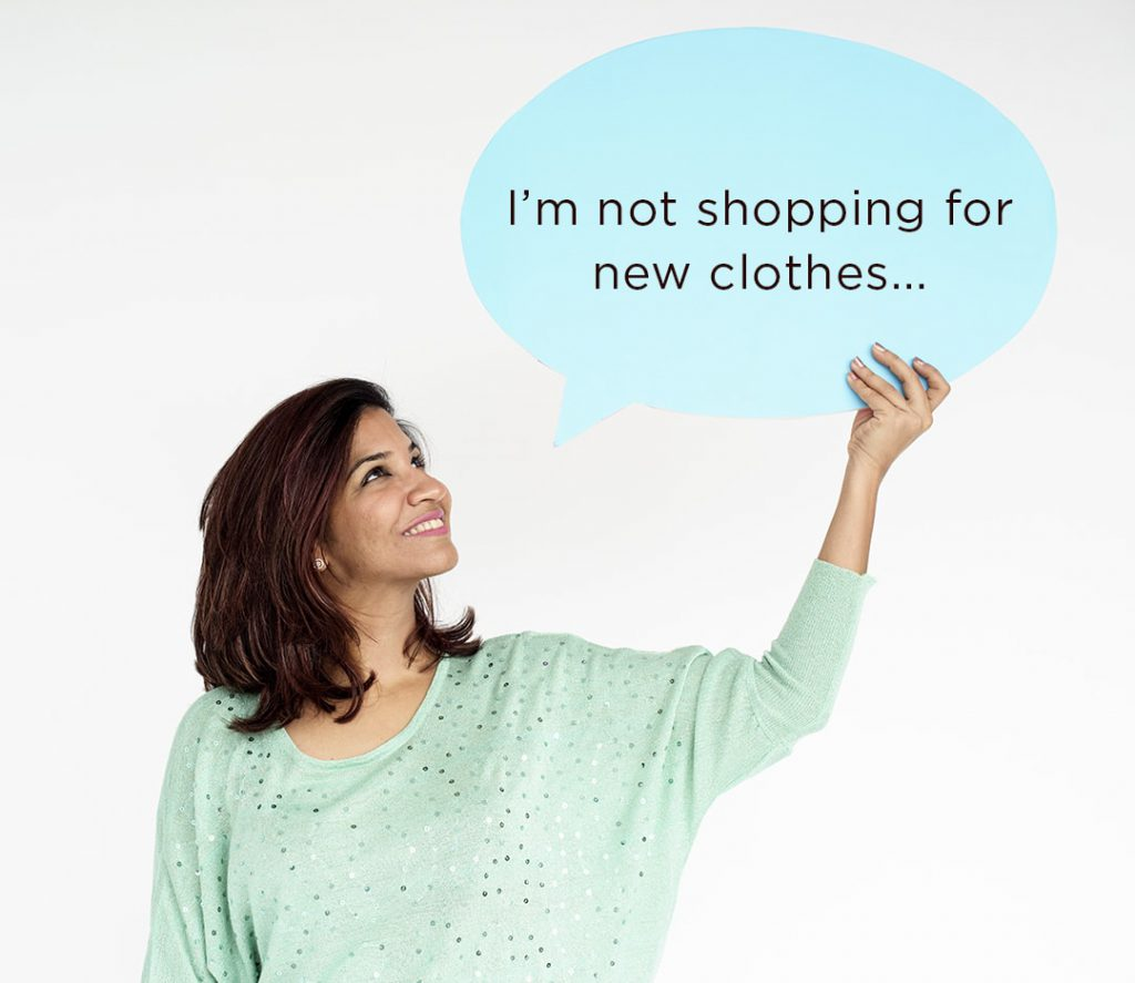 Diwali - not shopping new clothes