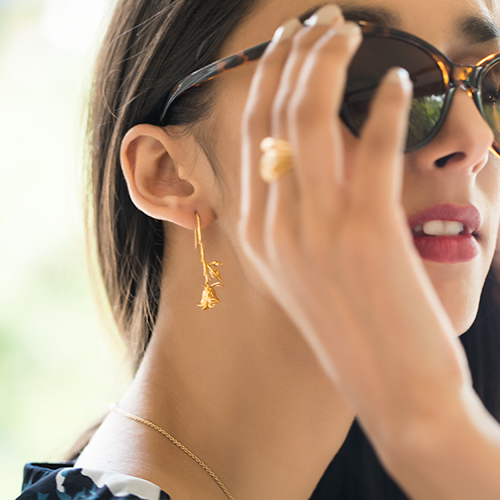 Match It Up! Your Dress-Earrings Style Guide