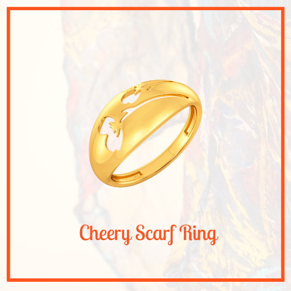 cheery scarf ring