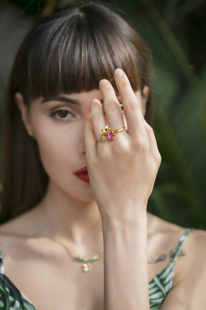 Earth Day 2021 Gold jewellery