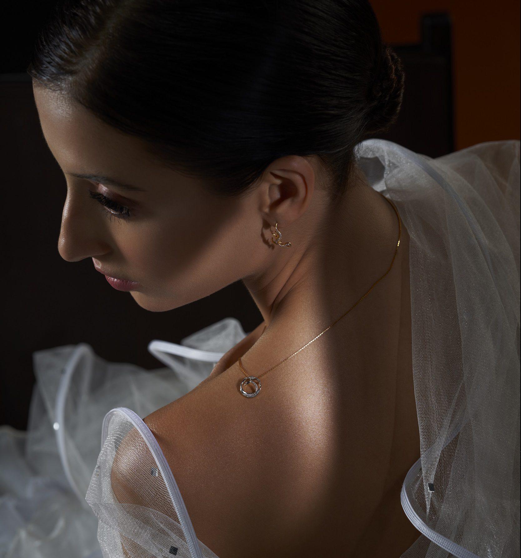 Brave N Blanc diamond pendant