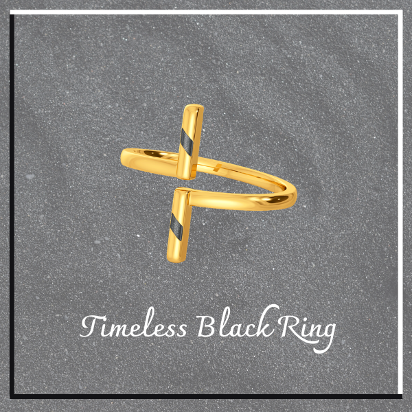 timeless black ring