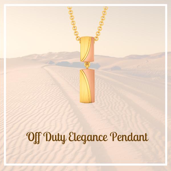 Off Duty Elegance Pendant