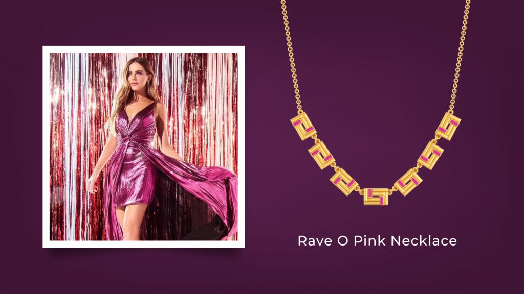 Rave O Pink Necklace
