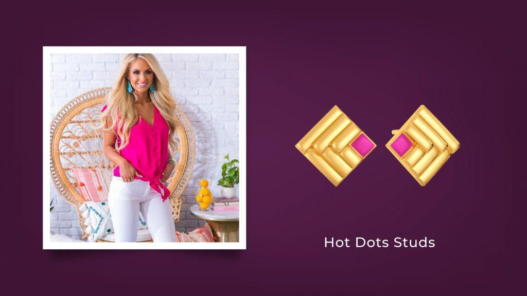 Hot Dots Studs