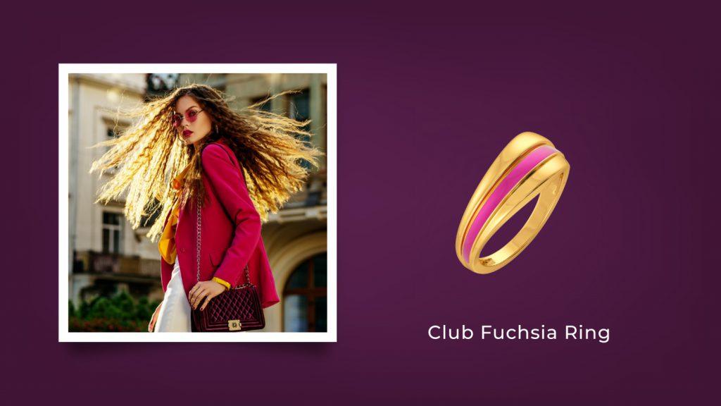 Club Fuchsia Ring