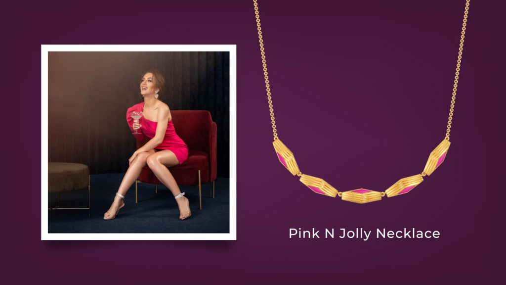 Pink N Jolly Necklace
