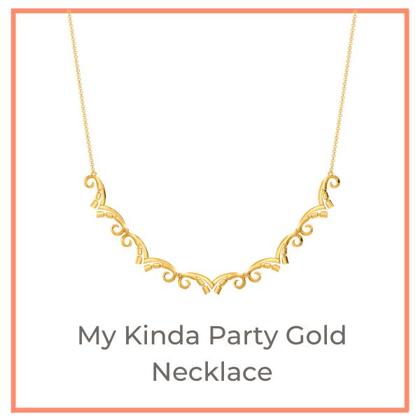 Disco Trend Melorra Gold Jewellery