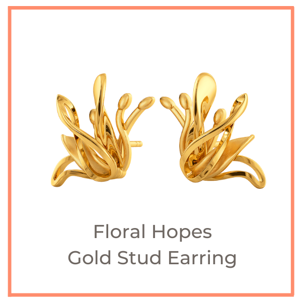 Bountiful Flowers Melorra Gold Jewellery