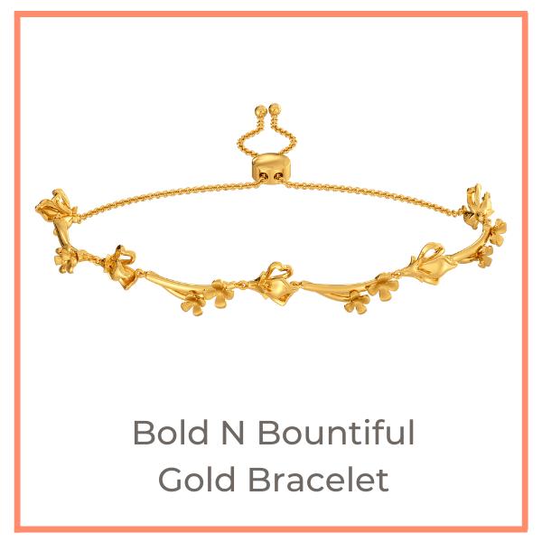Bountiful Flowers Melorra Gold Jewellery