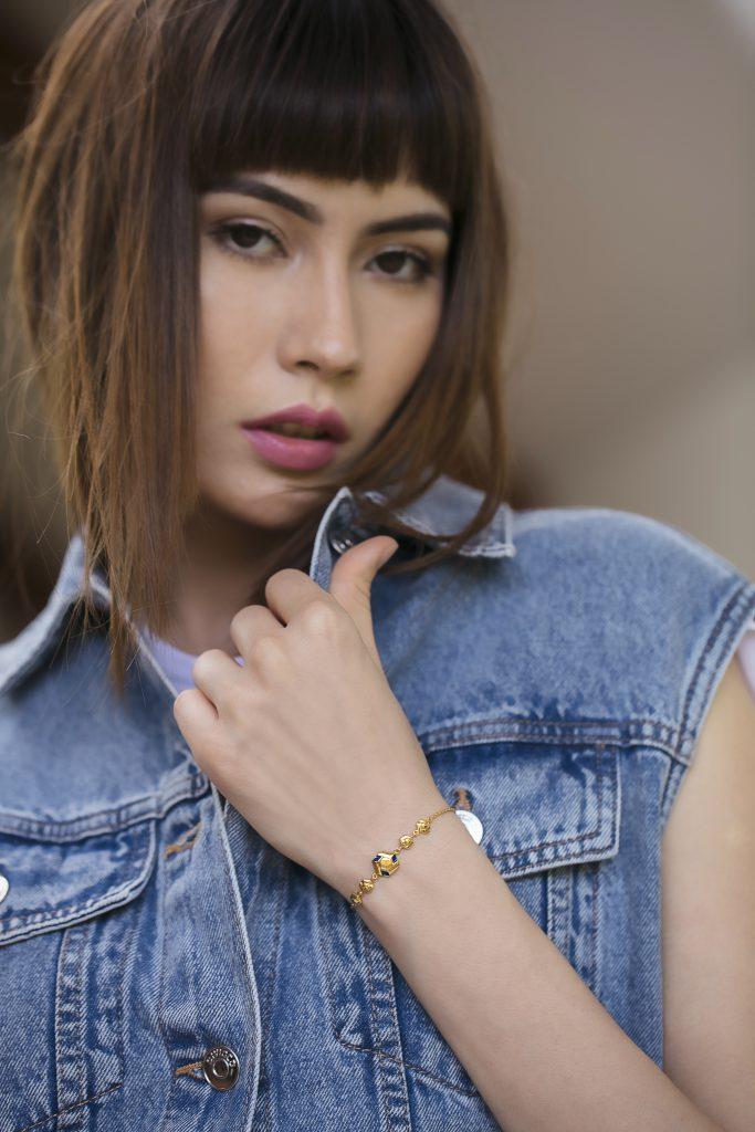 melorra gold summer bracelet
