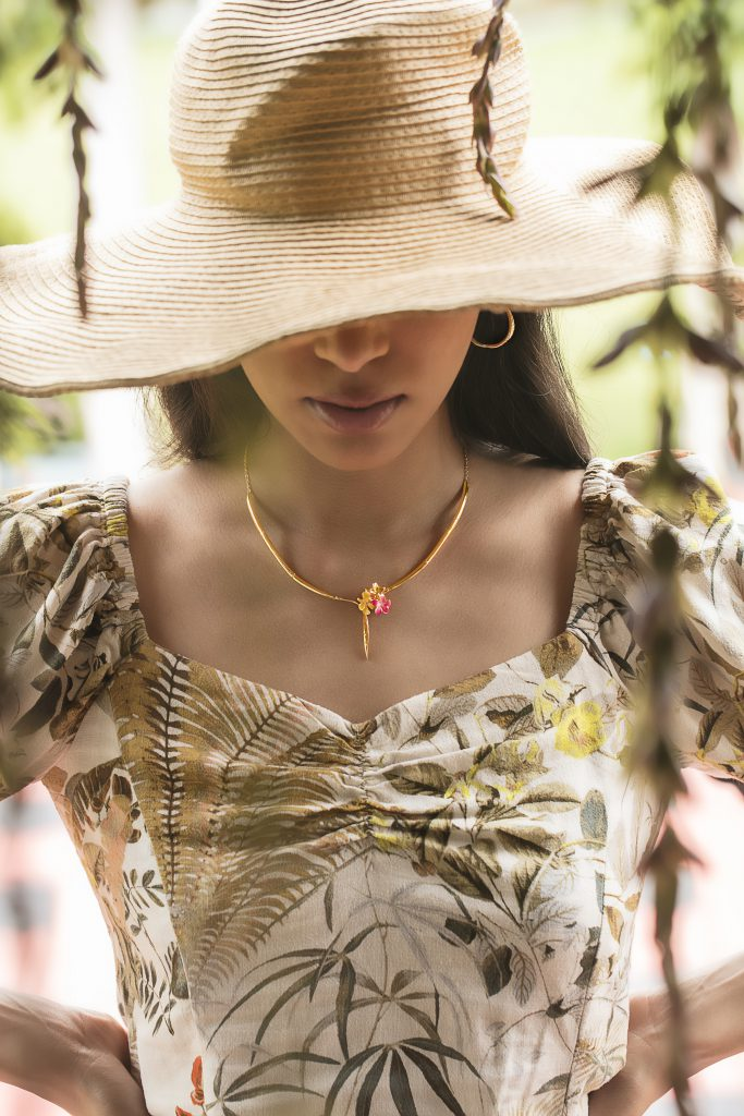 Melorra Florals to Flaunt Gold Jewellery