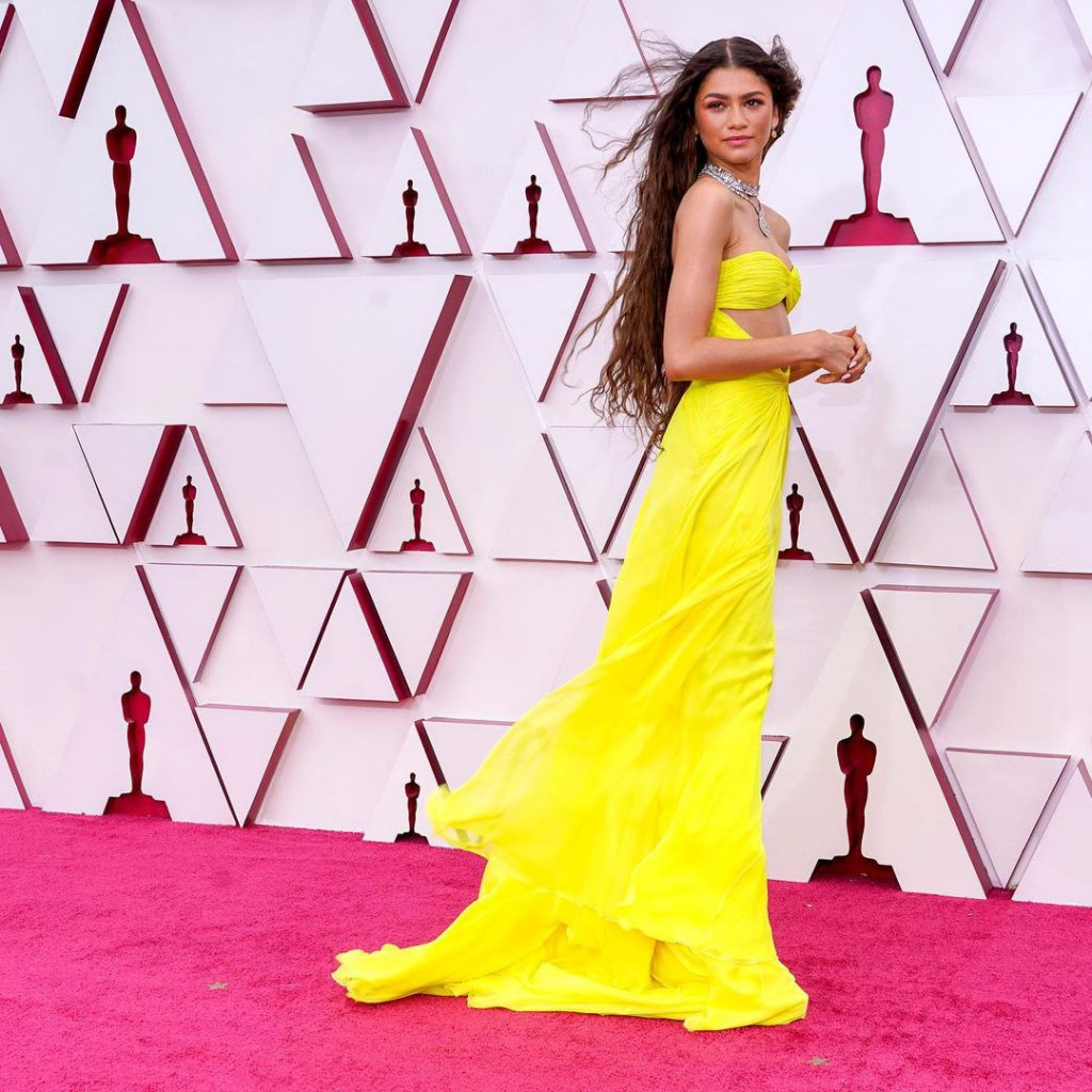 Oscars 2021 93rd Academy Awards - Arrivals