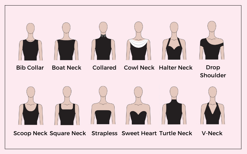 Different types of necklines melorra jewellery