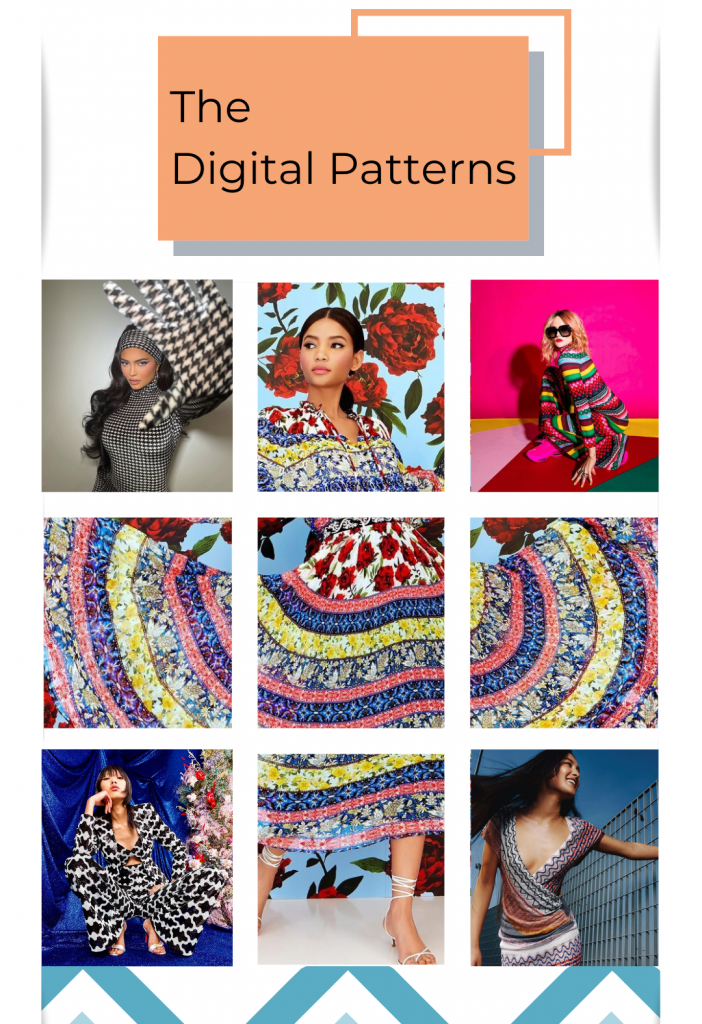 Digital Patterns Trend Spring Summer 2021