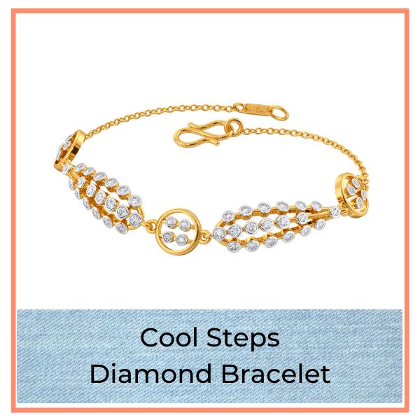 Big Blue Jean Trend Diamond Bracelet