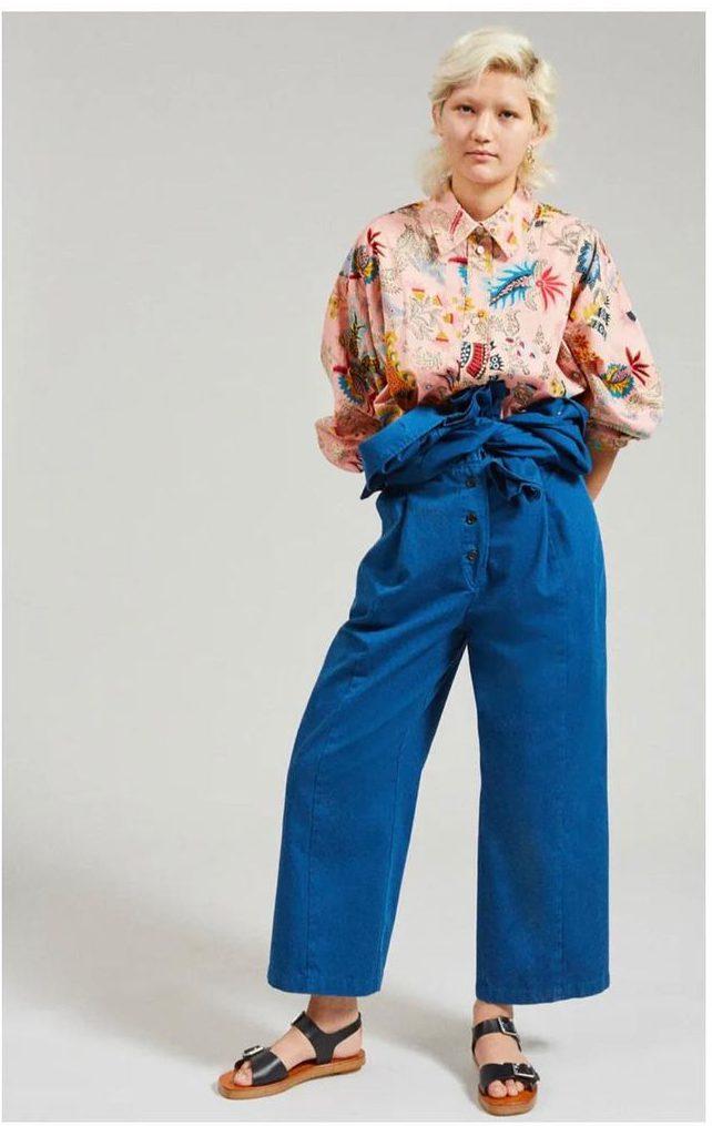Big Blue Jean Trend