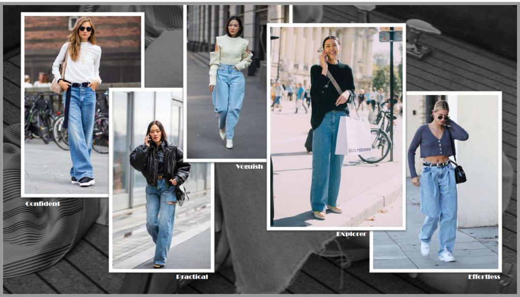Designer's Mood Board - Big Jeans