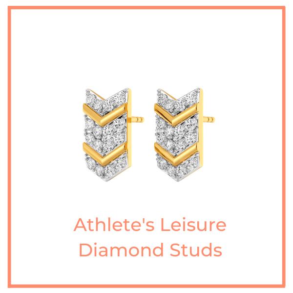 Athlete's Leisure Diamond Studs