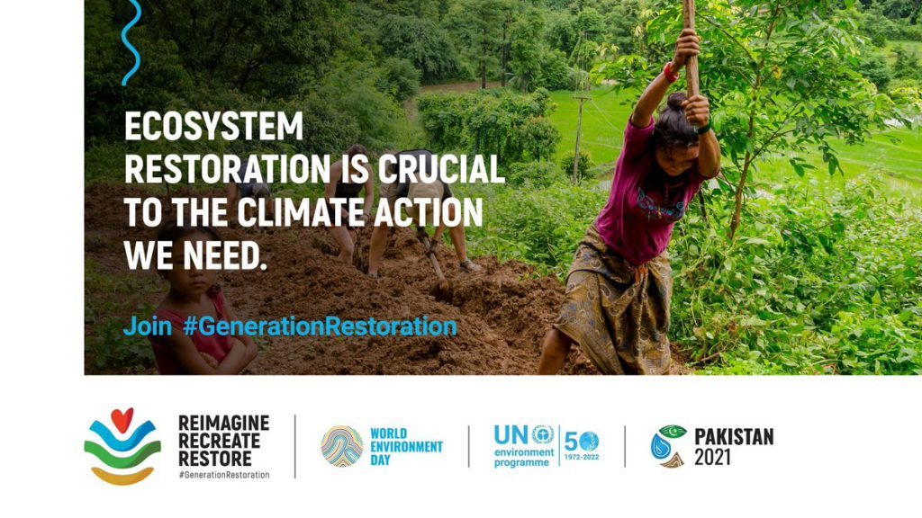 UNEP theme Generation Restoration