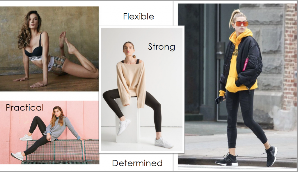Designer's Mood Board - The Sporty Stripes Collection