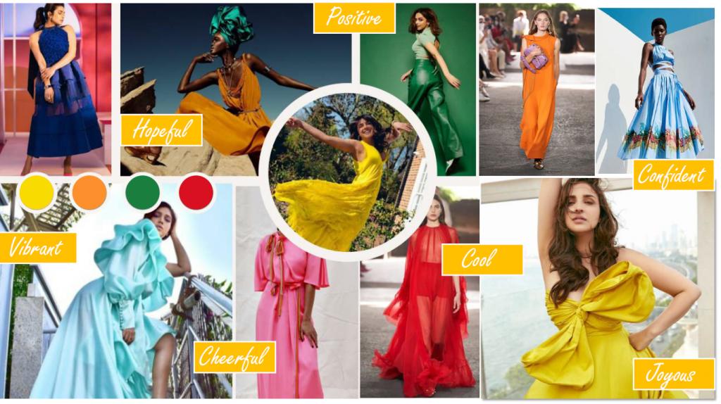 Radiant Colour Collection - Designer's Mood Board