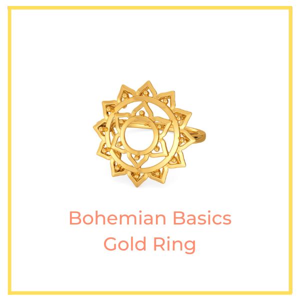 Bohemian Basics Gold Ring