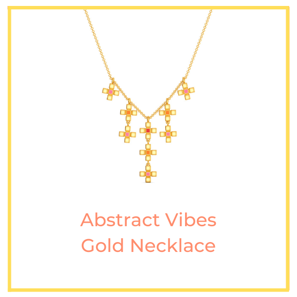 Abstract Vibes Gold Necklace