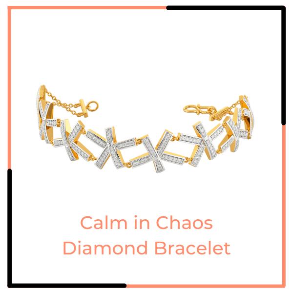 Calm in Chaos Diamond Bracelet