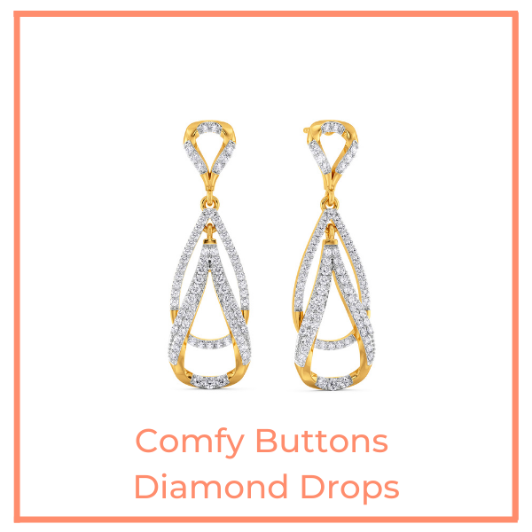 Comfy Buttons Diamond Drops