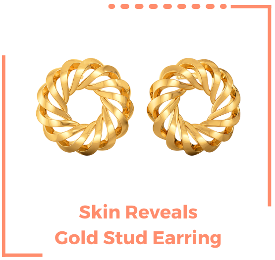 second skin collection gold jewellery
