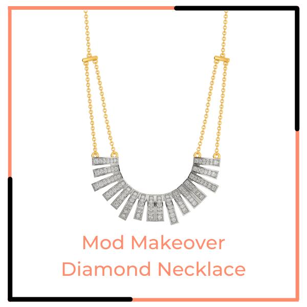 Mod Makeover Diamond Necklace