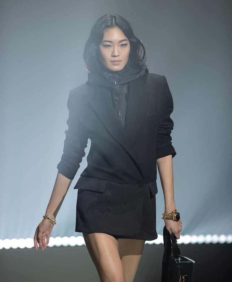 Layered Black Dress