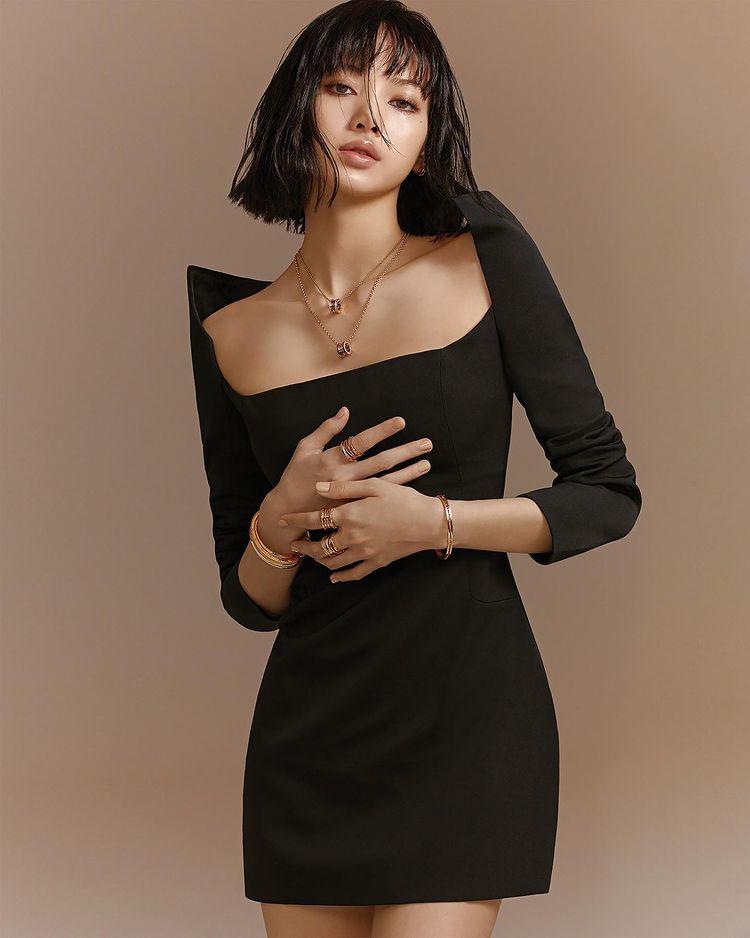 Coperni Black Dress