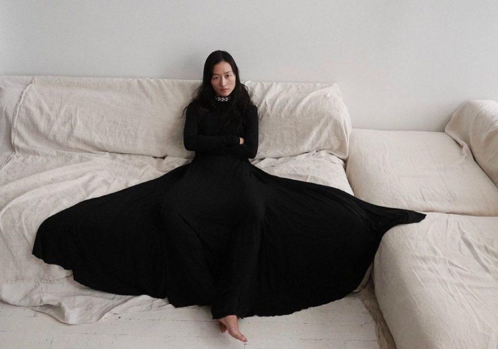 Peter Do's Modern Black Dress